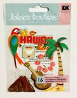 Jolees Hawaii Vacation Travel Excursion Dimensional Scrapbook Stickers