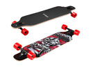ENKEEO 41 Inch Drop Through Longboard Skateboard