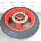 Ducati Monster 1000 S ie 2004 rear wheel rim with 70% tyre & good rotor disc