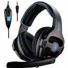 Sades Over-ear Stereo Gaming Headsets Headphones with Microphone for Plastation4