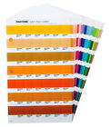 PANTONE Color Chips Sheets Individual Replacement Pages Not Full Book
