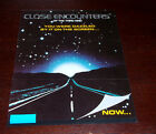 ORIGINAL D. GOTTLIEB & CO. CLOSE ENCOUNTERS PINBALL GAME ADVERTISING FLYER, 1978