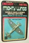 1970S 80S UNIVERSAL MIGHTY WINGS BRITISH SPITFIRE diecast 8+ Boys Hong Kong