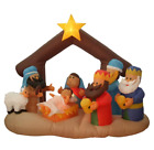 65 Inflatable Nativity Scene Lighted Christmas Yard Art Decoration Holiday