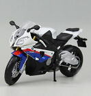 Maisto 1/12 BMW S1000RR Diecast Metal Motorcycle Autocycle Assembly Model Kit