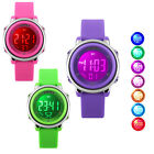 Children Digital Watch Outdoor Sports Electronic Watches Girls Kids LED Alarm