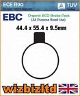 EBC Rear Organic Brake Pads Norton 850 MK 1 Commando Hi Rider/Interstate 73 FA27