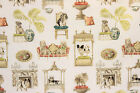 Discount Fabric P Kaufmann Upholstery Drapery Best in Show Dogs Bone White 10EE