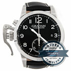 Graham Chronofighter 1695 2CXAS.B01A.L17S Auto 42mm Steel Strap Watch Date