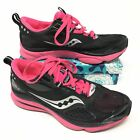 Womens Saucony Grid Profile Size 75 Sneakers Shoes Running Black Pink Gray H14