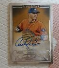 2016 Topps Five Star Carlos Correa Auto Gem Mint condition