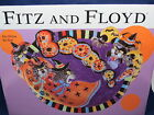 Fitz & Floyd Kitty Witches Boo Bowl in Original Box Mint HTF Great Gift! S8 4.61
