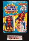 RED TORNADO Action Figure 1985 Super Powers 23 Back Series 2 Kenner