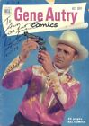 GENE AUTRY INSCRIBED COMIC BOOK SIGNED 12 01 1977