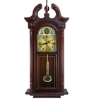 Chiming Wall Clock Colonial With Chimes Pendulum Bedford Large 38 Grand Antique