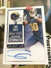2015 PANINI CONTENDERS TODD GURLEY RC ROOKIE TICKET AUTO ON CARD RAMS