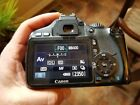 USED Canon EOS Rebel T2i 550D 180MP Digital SLR Camera Black Body Only
