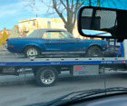 1968 Ford Mustang 1968 Mustang Coupe 289 2V Auto Acapulco Blue Parchment PS VR AC Project