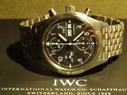 IWC Fliegerchronograph 3706 Stainless Steel, Fully boxed, card, booklet