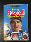 1988 Donruss Baseball Puzzel & Cards Wax Box 36 Packs