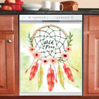Country Prim Decor Kitchen Dishwasher Magnet Pretty Flower Native Dreamcatcher