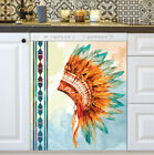 Country Prim Decor Kitchen Dishwasher Magnet Beautiful Native Headrest