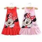 Minnie Mouse Girls Princess Kids Toddler Party Wedding Pageant Summer Tutu Dress