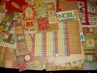 Scrapbook Chipboard Fall Winter Holiday Christmas Letters Numbers Lot