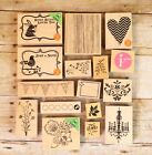 Lot Of 16 Hero Arts Rubber Stamps