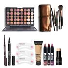 Makup Tool Kit 8 PCS Must Have Cosmetics Including Eyeshadow Matte Lipstick With