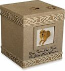 Pet Cremation Urns For Dogs Cat Urn Small Large Pets Box Dark Brown Casket