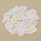 Paper Stickers Album Scrapbook Diary Planner Photo Letter Stickers Decoration