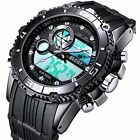 BLCOT Big Face Sports Watch Men Waterproof Multifunction Wrist Digital Watches