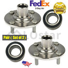 Pair2 Front Wheel Hub  Bearing Fits 95 00 Ford Contour 99 02 Mercury Cougar