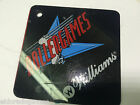 RollerGames Williams 1990 Pinball Promotional Plastics Key chain KeyChain
