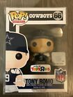 Funko POP! Football NFL Tony Romo Throwback Toys R Us Exclusive w Protector!