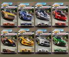 NEW 2016 Hot Wheels Ford Performance Lot of 8 Mustang Cars in PROTECH Covers