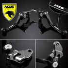 MZS Pivot Clutch Brake Levers For Suzuki DRZ400S/SM RM125/250 RMZ250/450 RM85