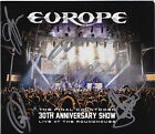 EUROPE FINAL COUNTDOWN LIVE 3 CD DVD SIGNED JOEY TEMPEST JOHN NORUM AUTOGRAPHED