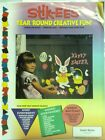 Stik EES Easter Bunny Chick Egg Basket Happy Easter Window Clings Reusable NEW