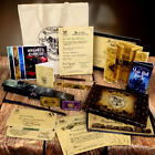 Harry Potter Chtistmas MONSTER Package Marauders Map, Yule, Hogarts Letter