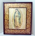 Our Lady Of Guadalupe Mexican Virgen de Guadalupe Handmade Wall Art