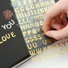 1 Sheet Stickers Children A to Z Alphabet Sticker Adhesive DIY Diary Decor Hot