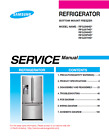 Samsung Bottom Mount Refrigerator RFG298HD RFG297HD Service Manual - pdf format