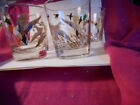 4- Vintage Libbey Mid Century Glasses Tumblers MALLARD DUCK and his HEN
