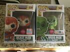 Pop Funko Set Of 2 Exclusive Masters Of The Universe Flocked MIB