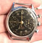 Vintage Lemania 105 - Stainless Steel - 2 Register Chronograph