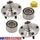 Pair2 Front Wheel Hub  Bearing Assembly Fits 05 13 Mazda 3 06 10 Mazda 5