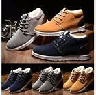 Mens Winter Warm Fur Shoes Breathable Casual Sneakers Running Shoes