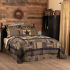 Annie Buffalo Tan Check King Patchwork Quilt Cotton VHC Brands